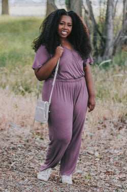 PLUS SIZE - Brynlee Jumpsuit