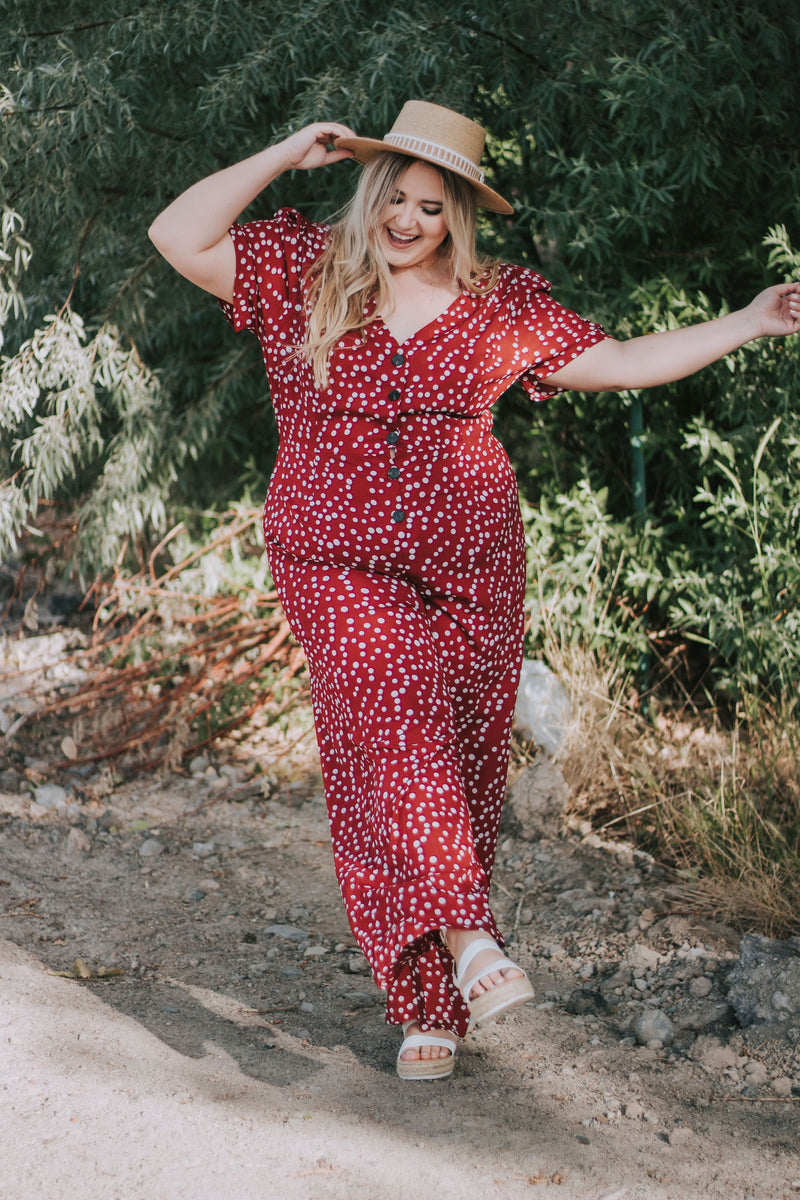 PLUS SIZE - Lou Lou Jumpsuit