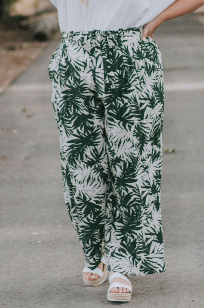 PLUS SIZE - Tropicana Pants