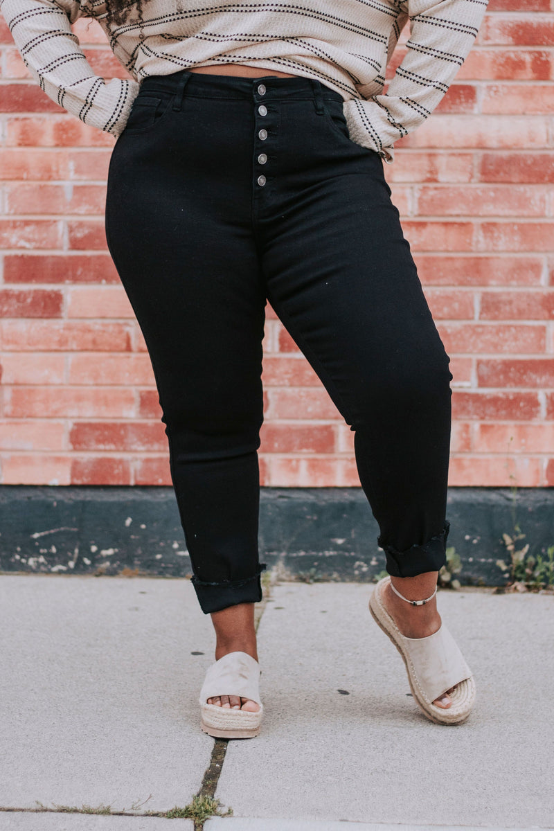 PLUS SIZE - Stand For Something Pants