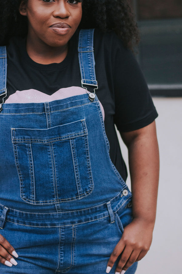 PLUS SIZE - Holland Denim Overalls
