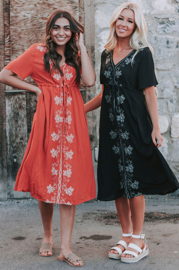 Let it Rain Dress - 2 Colors