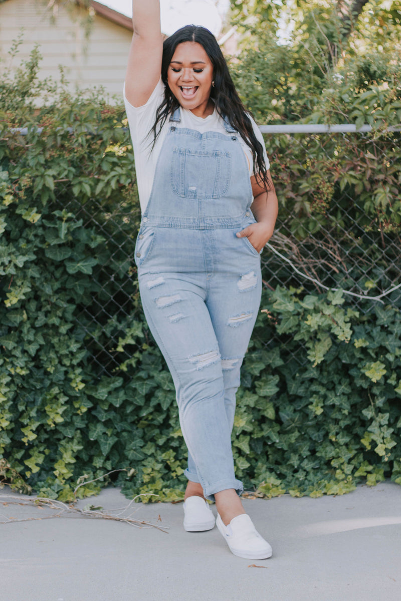 PLUS SIZE - Got Me Good Overalls