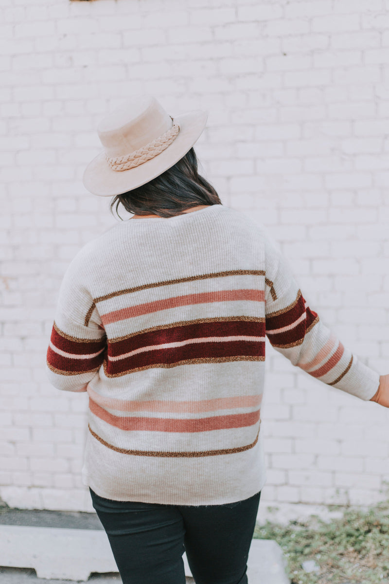 PLUS SIZE - Simple Days Sweater