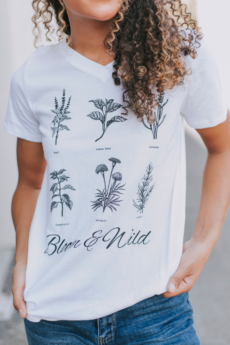 Bloom & Wild Graphic Tee