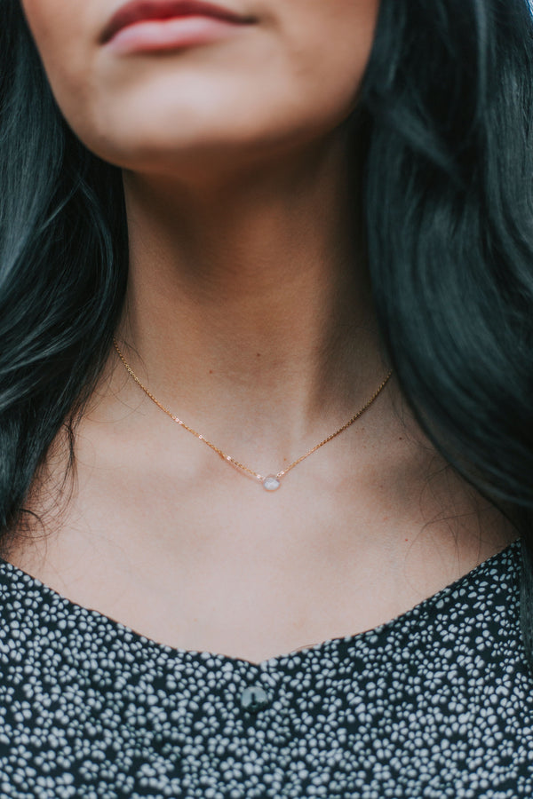 Dainty Opalite Necklace