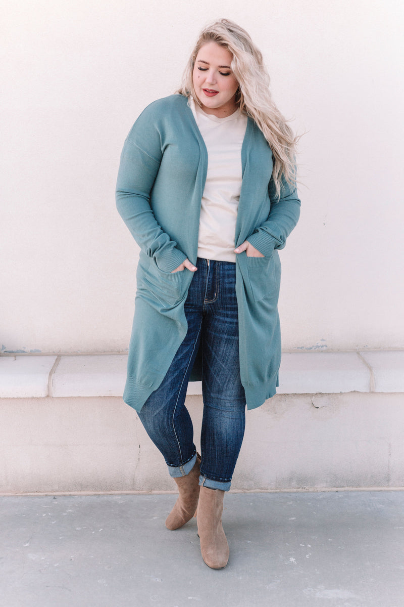 PLUS SIZE - Self Love Cardigan - 3 Colors