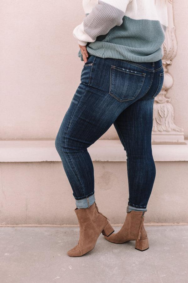 KanCan PLUS SIZE - Knope Jeans