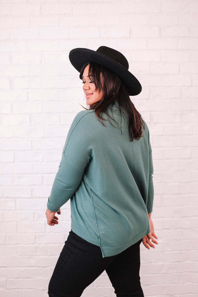PLUS SIZE - Paxton Sweater - 2 Colors