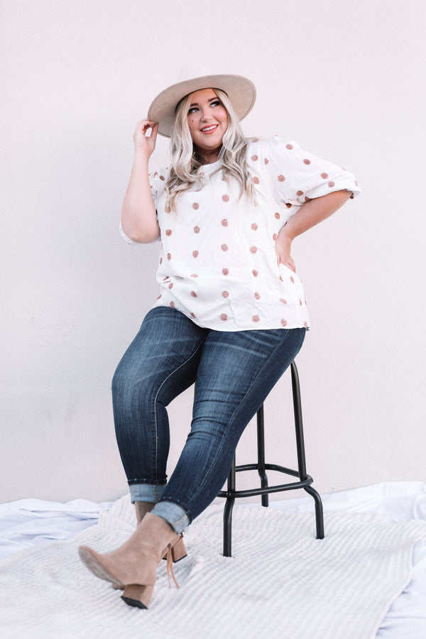 PLUS SIZE - Adella Top