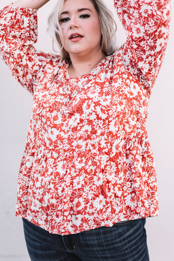 PLUS SIZE - Lindsey Top