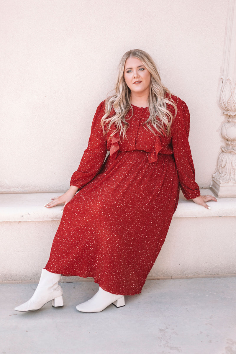 PLUS SIZE - Welcome Home Dress