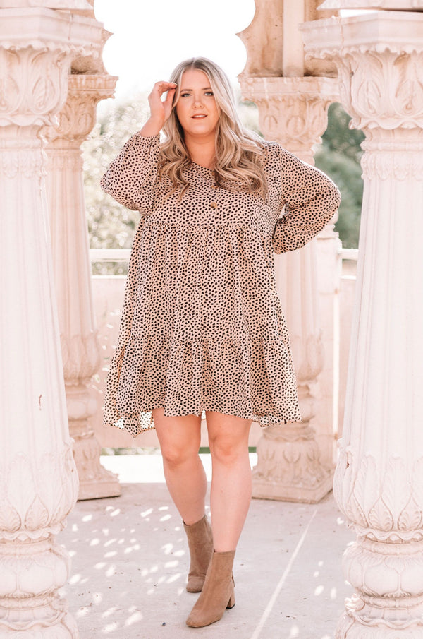 PLUS SIZE - Hollander Dress
