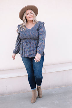 PLUS SIZE - Pacific Grove Top