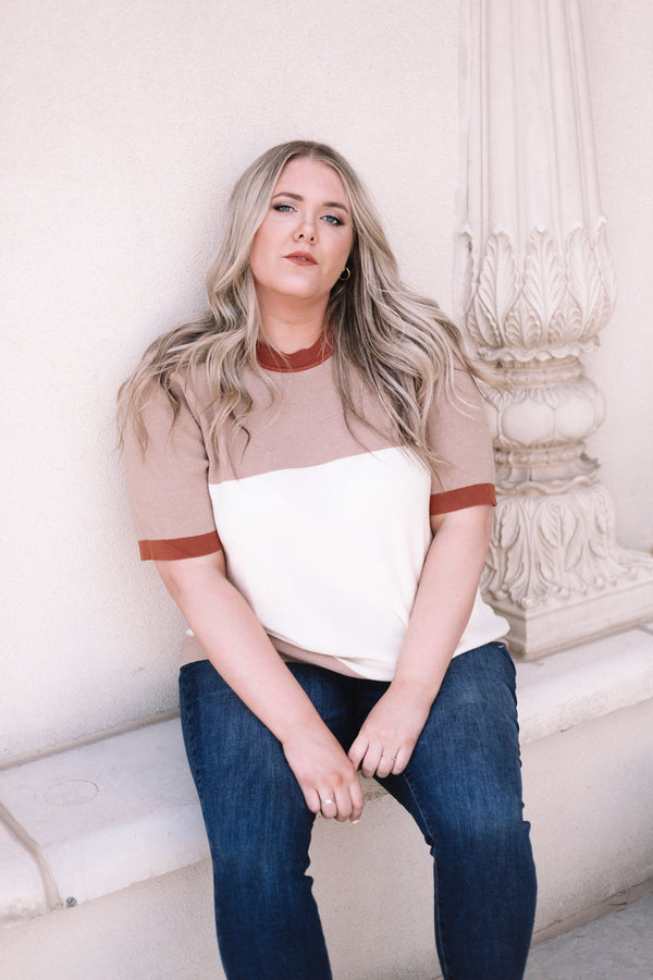 PLUS SIZE - Mathers Top