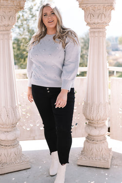 PLUS SIZE - Morning Glory Sweater