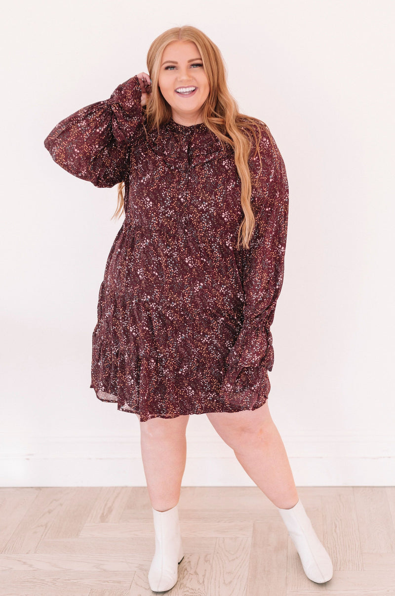 PLUS SIZE - Give Thanks Dress