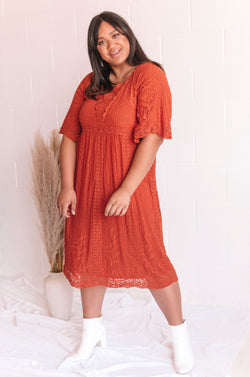 PLUS SIZE - Autumn Hills Dress - 2 Colors