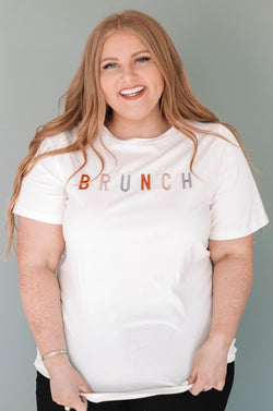 PLUS SIZE - Brunch Tee