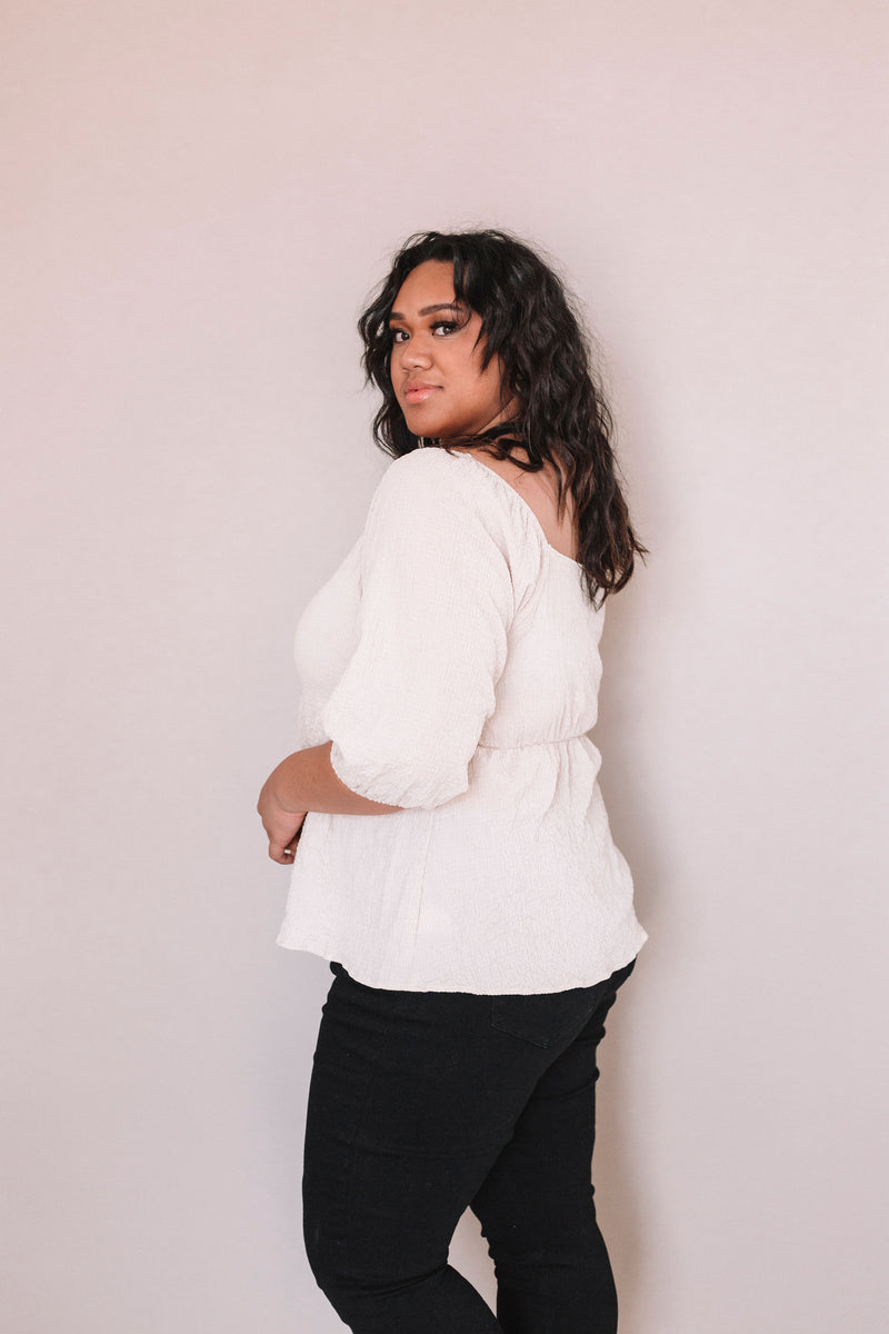 PLUS SIZE - Jarvis Top