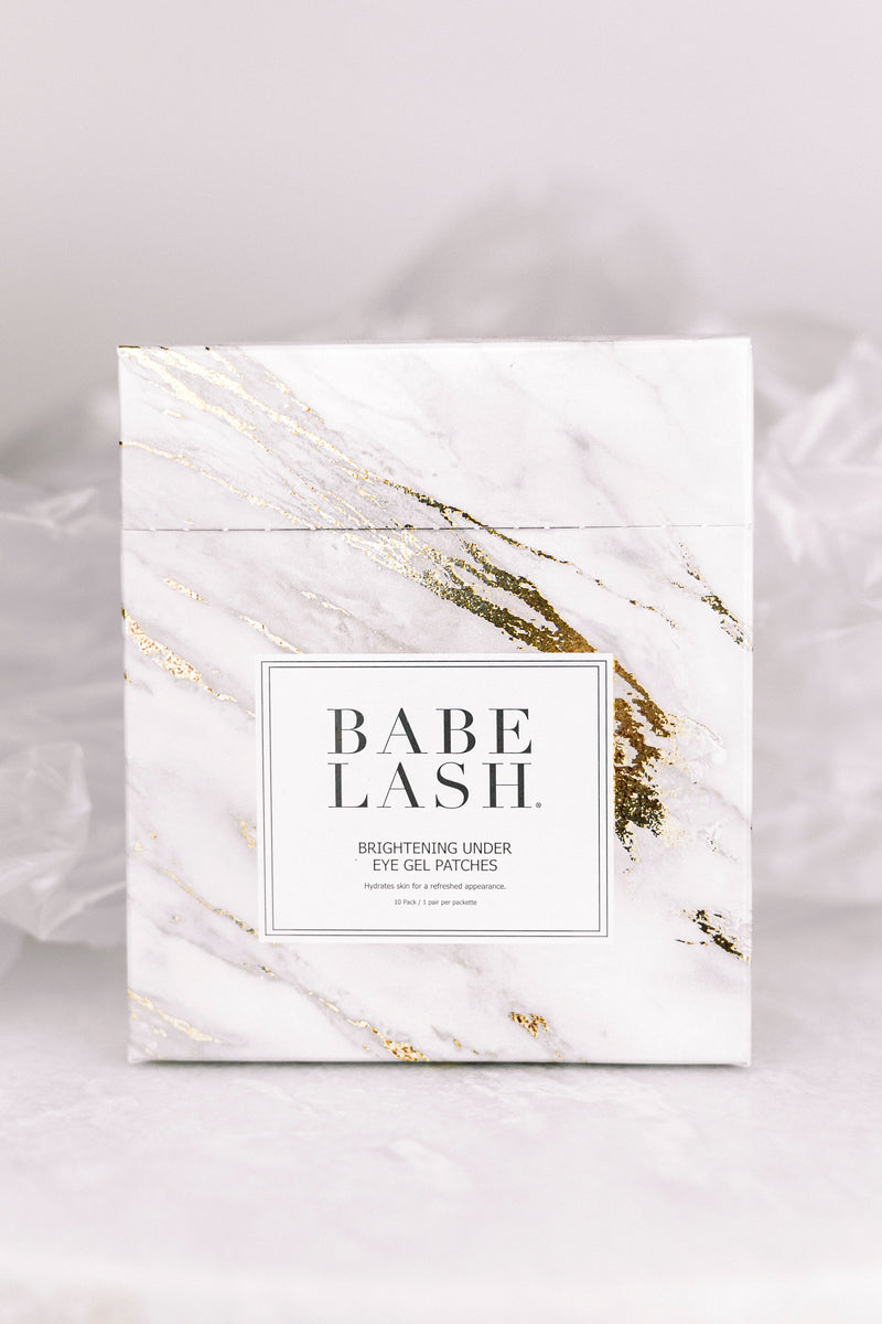 Babe Lash Brightening Eye Gel Patches