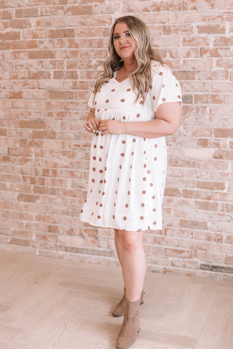 PLUS SIZE - Chanel Spotted Dress - 2 Colors
