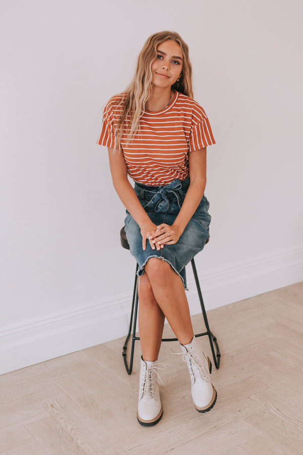 Melissa Striped Top