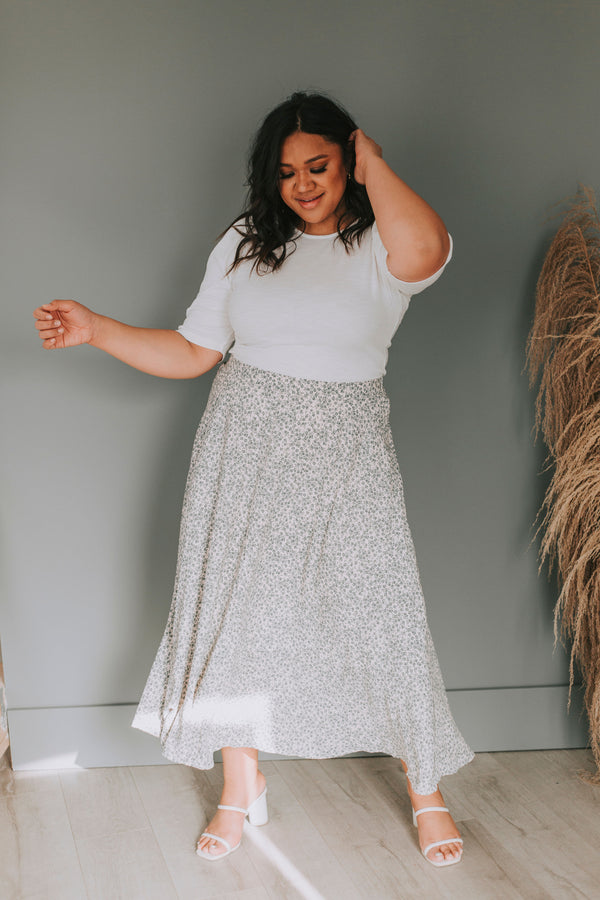 PLUS SIZE - What If Skirt