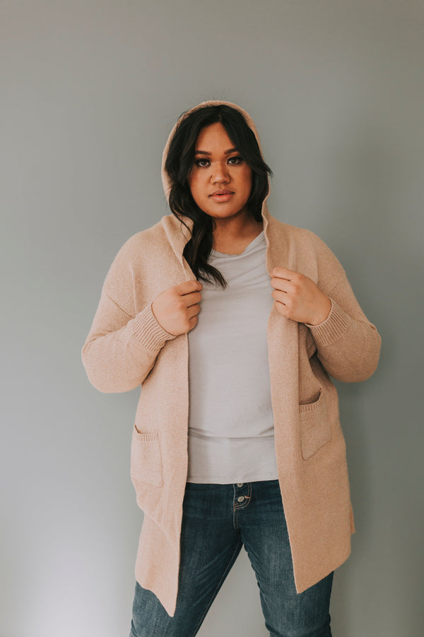 PLUS SIZE - Fearless Cardigan