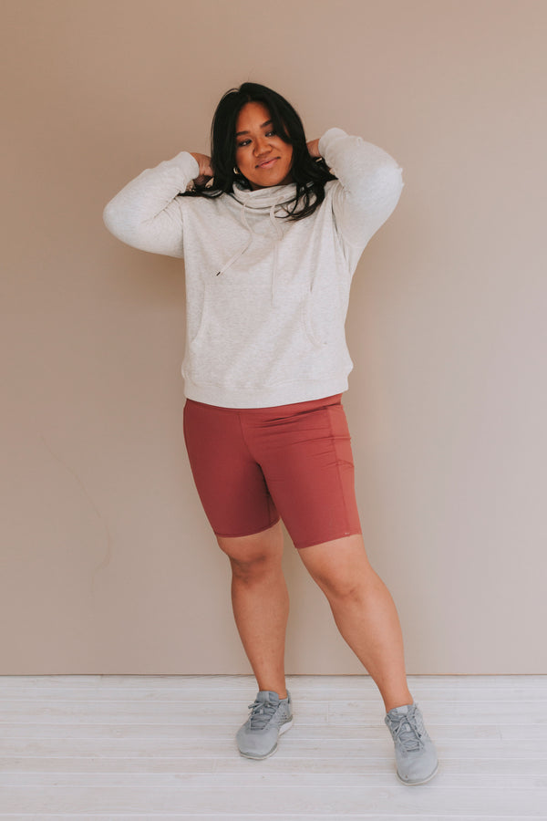 PLUS SIZE - Ready For Anything Pullover