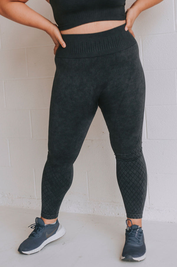 PLUS SIZE - Work Hard Leggings