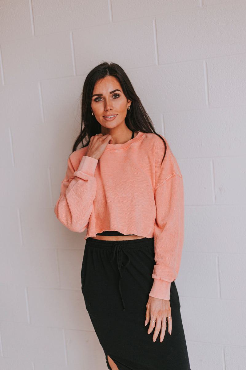 Interval Cropped Pullover - 3 Colors