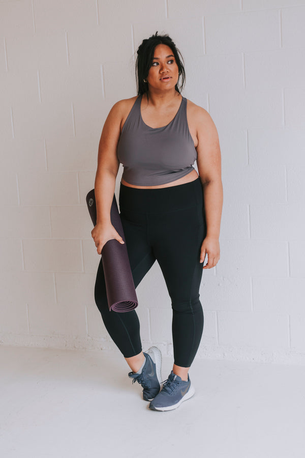 PLUS SIZE - Push It Leggings