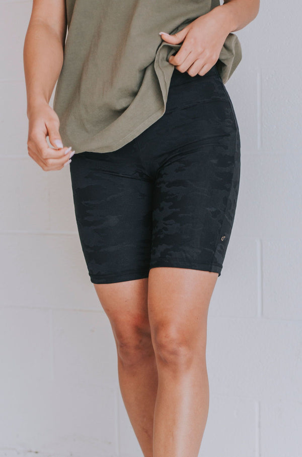 Aim Higher Biker Shorts - 2 Colors