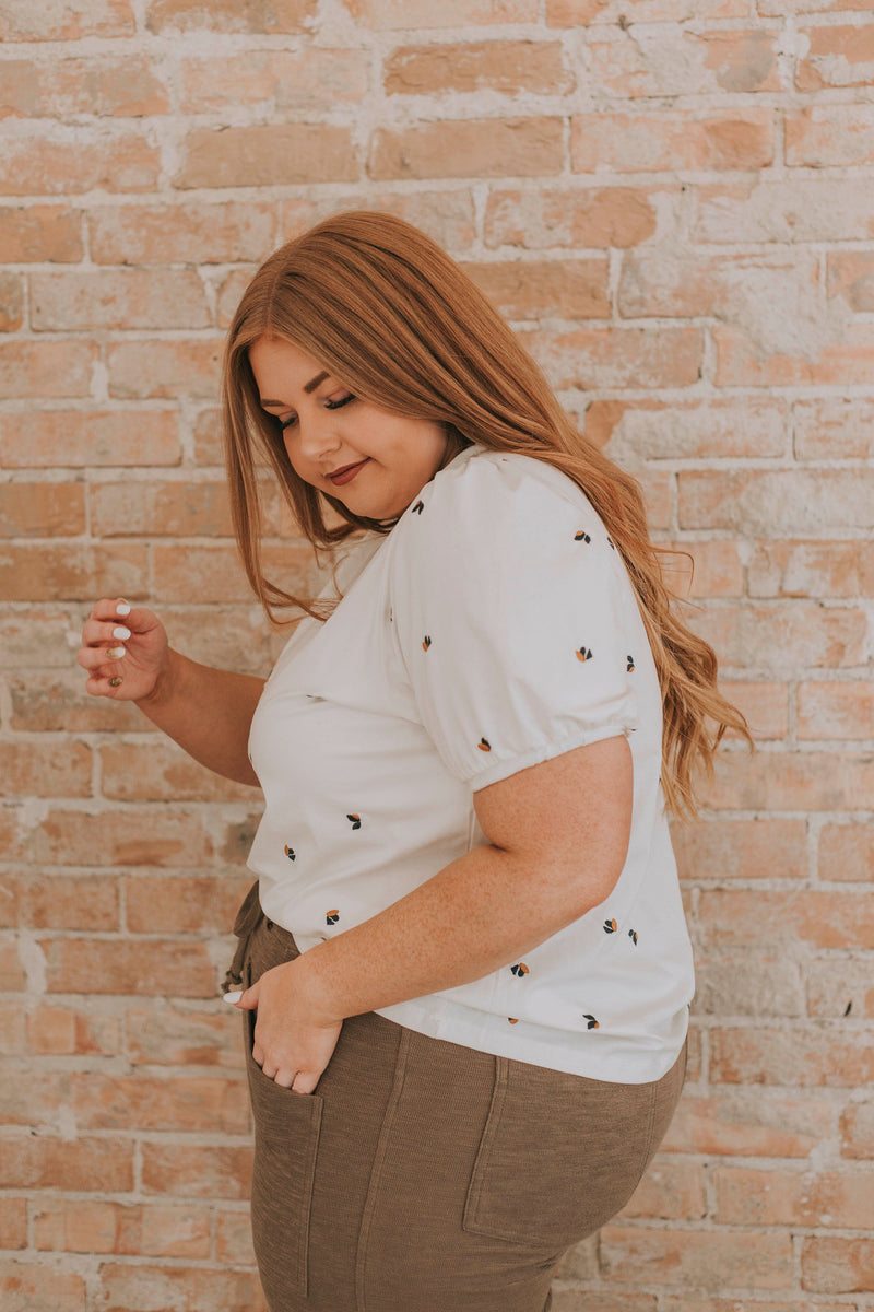 PLUS SIZE - Nicoletta Top - 2 Colors