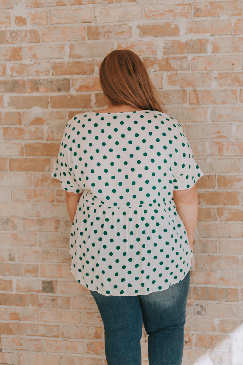 PLUS SIZE - Tegan Top