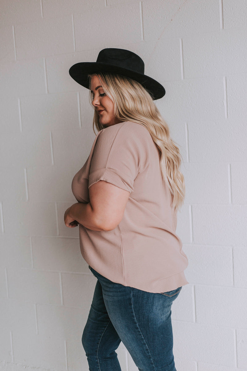 PLUS SIZE - Sabina Top - 2 Colors