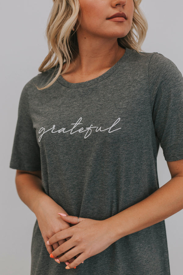 Grateful T-Shirt Dress