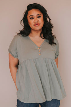 PLUS SIZE - Vera Top - 2 Colors