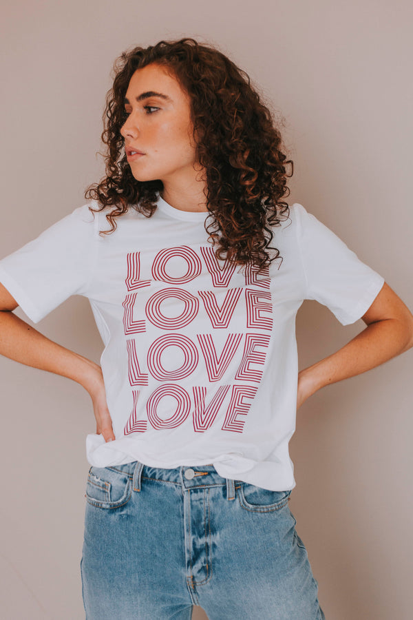 Love Tee - Extended Sizing
