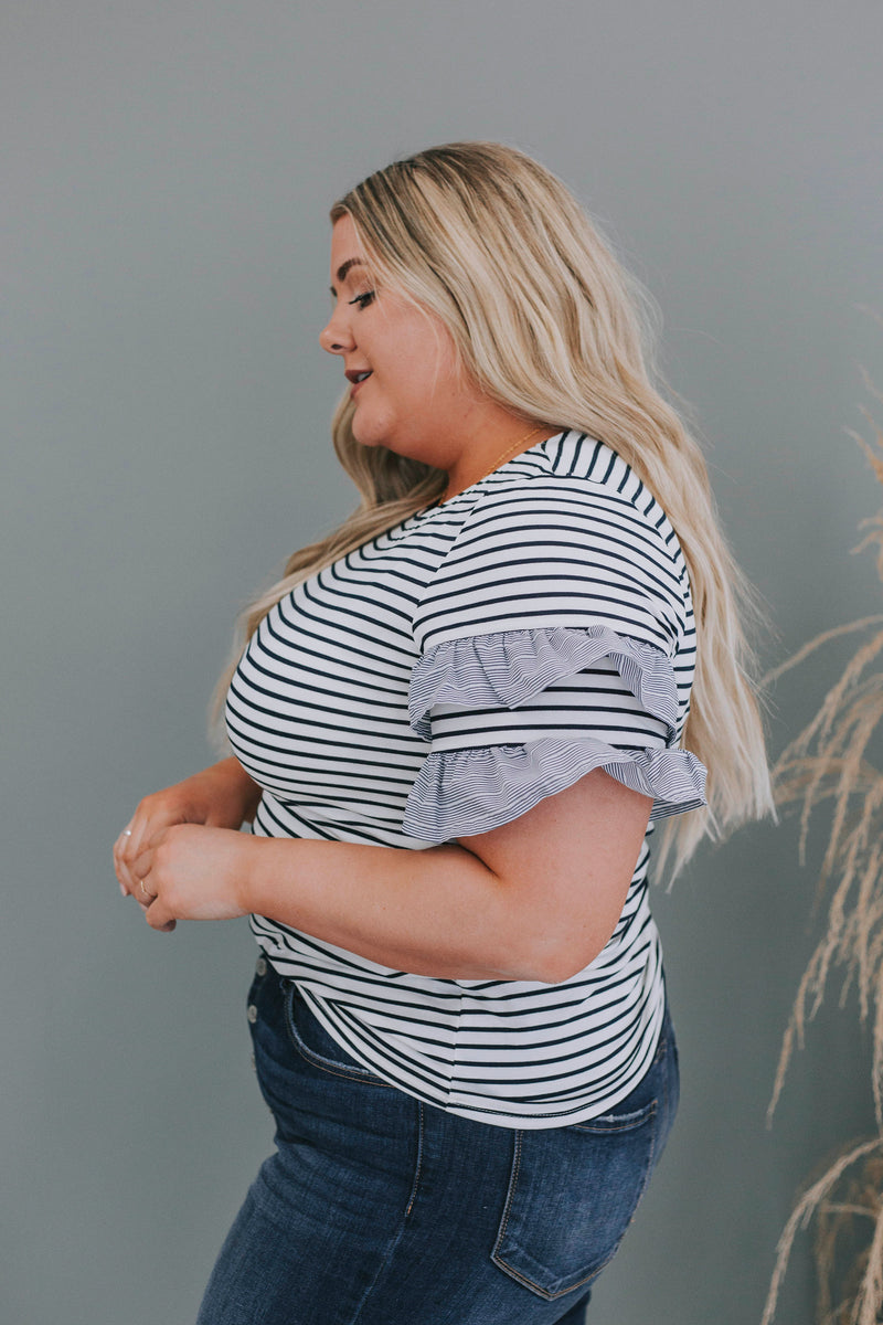 PLUS SIZE - Kristi Top