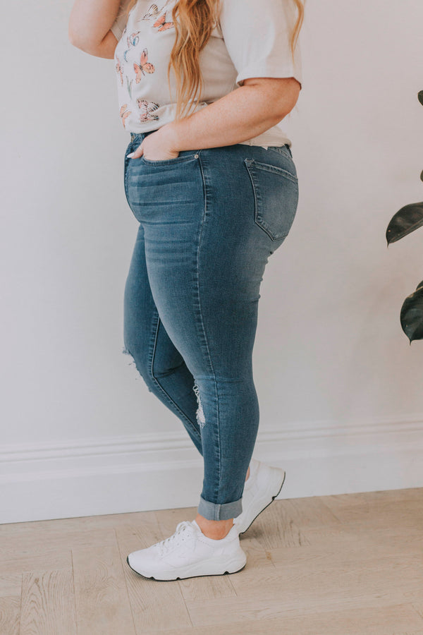 PLUS SIZE - KanCan Mary Beth Jeans