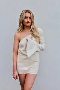 clementine mini dress top *natural*