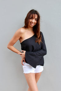 clementine mini dress top *black*