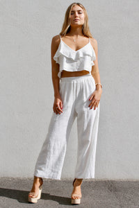 beach comber cotton pants