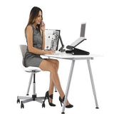 Vented Adjustable Folding Laptop Notebook Desk Table Stand Bed Tray W/Mouse Tray
