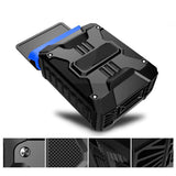 New Mini Vacuum USB Laptop Cooler Air Extracting Exhaust Cooling Fan CPU Cooler