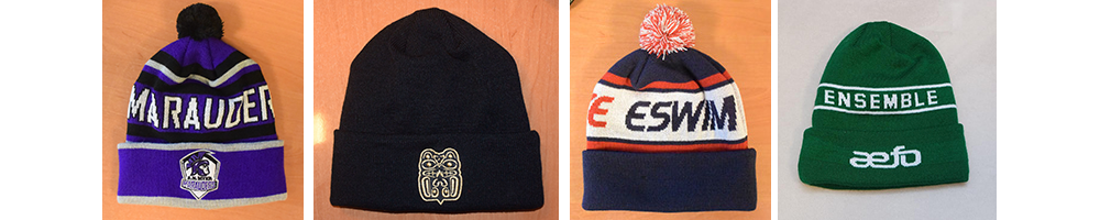 Custom Manufactured Toques and Beanies