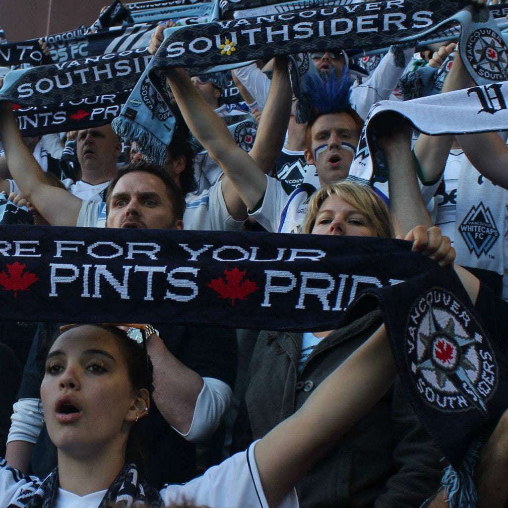 WE ARE CANADA'S PREMIER CUSTOM SUPPORTER SCARF COMPANY