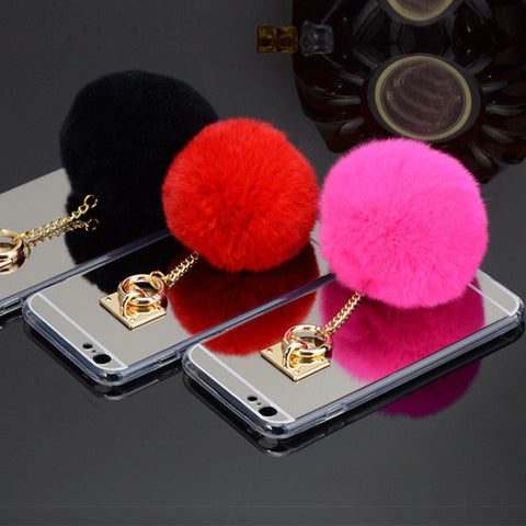 Cute Fur Ball For iPhone